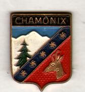 PIN'S CHAMONIX - Villes