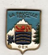 PIN'S GEX, LA FAUCILLE - Villes