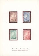 1954/1960, Lot Of Four Presentation Books (two With Brocade Cover), Comprising A Good Selection Of Better Issues,...