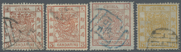 1897/1923, Empire And Republic Used (66 Inc. Blocks-4), Selected For Clear Postmarks. (D) - China