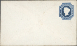 1857-1930 (c.) Postal Stationery: Collection Of About 120 Postal Stationery Envelopes, Mint And Used, From QV To... - Sri Lanka (Ceylon) (1948-...)