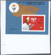 1969, Mnh Collection, 2 Years Of Independence And Pope Visit, 2 Issues (Mi. # 35/43a+b), Both Complete With Blocks...