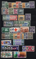 1953/1980, Unmounted Mint Collection (1st Set Hinged), Apparently Excluding Souvenir Sheets (these See Separate... - Antigua And Barbuda (1981-...)