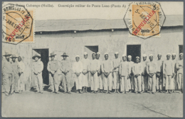1902/46 (ca.), PICTURE POSTCARDS: Interesting Accumulation With 22 Used Picture Postcards Incl. Several Better... - Angola