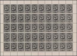 1968, Freimarken: Abd El-Kader, Bogen (einmal Senkrecht Gefaltet) Von 50 Stück OHNE WERTANGABE, Teils Minimale... - Algeria (1962-...)