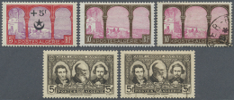 1924/1955 (ca.), Collection On Self-made Album Pages With Several Better Issues And Complete Sets With A Few Covers... - Algeria (1962-...)