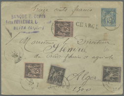 1850 - 1976, Nice Collection Nearly Only From The French Era Until 1960, 195 Covers, PPC's And Postal Stationery's.... - Algeria (1962-...)