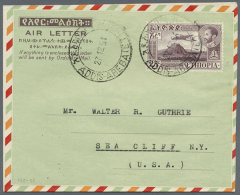 1951/1970 (ca.), AEROGRAMMES: Accumulation With About 300 Unused And Used/CTO Airletters And Aerogrammes With... - Ethiopia