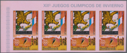1975, Olympic Winter Games 1976 In Innsbruck, 11 Values, Mi. # 535/545, Imperforated In Complete Sheets, Totally... - Equatorial Guinea