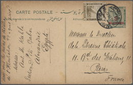 1890's-1950's: Group Of 22 Postal Stationery Items Used, With Good Cards Like 1916 3m. On 2m. Used Uprated To... - Unclassified