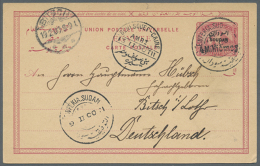 1880/1900 (ca.), Nice Lot With Around 90 Postal Stationaries, With Early Stationaries, Overprints, Soudan, With... - Unclassified