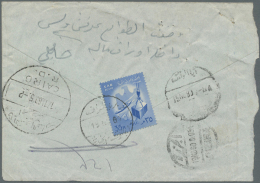1960's To Present: Accumulation Of About 100 Covers And Cards, With Clear Postmarks (unusual For This Period),... - Unclassified