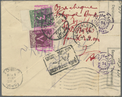 1915/1945, Group Of Six Better Entires, E.g. Postage Dues On Incoming/outgoing Mail, POW Mail, French Field Post... - Egypt