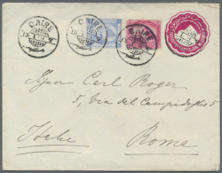 Starting About 1900, Cover Lot Of More Than 400 Covers  Many To Germany Or GDR, Some Internal Covers, Nice... - Egypt