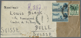 1900/1970, Over 400 Letters, Postcards And Postal Stationary From Egypt, Mainly One Correspondence Sent To Bulle In... - Unclassified