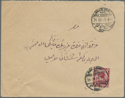 1899-50's Ca., Group Of 35 Selected Covers To Europe Or Domestic With Interesting Postmarks And Frankings Including... - Egypt