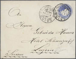 1897/1948, Very Nice Lot Of 11 Letters And One Card, 8 From And 4 To Egypt (from Soudan (3) Or France), All With... - Egypt