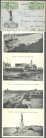 1897-1951, Six Interesting Covers And Cards: 1) 1897 Cover To Paris, Re-directed, 2) 1906 Registered 'Daïra... - Egypt