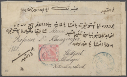 1882-1953, Collection Of More Than 80 Covers And Cards, With A Lot Of Good Frankings (from 1888 1m. Plate Block Of... - Egypt