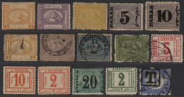 1870-1940, Classic Stamps In Large Album Including Early Pyramide Issues Mint And Used, Surcharged Issues, Postage... - Egypt