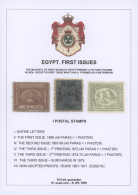 1866-1879: EGYPT FIRST ISSUES: Specialized Collection Of The Various Mint And Used Stamps, Some Covers, Proofs,... - Unclassified