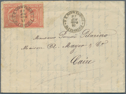 1866/1955, Very Nice Lot Of Letters And Postal Stationaries, Starting With Four Letters With Frankings Of The... - Unclassified