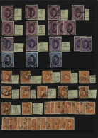 1866-1957: Mint And Used Collection Of Stamps Including Postage Dues And Officials, Souvenir Sheets, Varieties,... - Unclassified