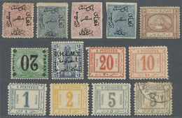 1866-1960's: Comprehensive Collection And Accumulation Of Several Thousand Of Mostly Used (some Mint) Stamps And... - Egypt