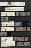 1866/1960 (ca.), Comprehensive Accumulation In A Stockbook With Plenty Of Material, Showing A Good Part 1st Issue... - Unclassified