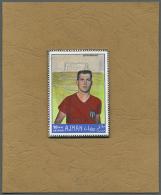 1968, Internationale Spitzensportler Franz Beckenbauer Als Nicht Realisierter Probedruck. 1968 International Top... - Ajman