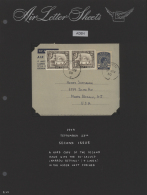 1949/1957: Collection Of 31 Air Letter Sheets, 13 Used (few C.t.o.), Others Fine Unused, From First KGVI. Issues,... - Aden (1854-1963)