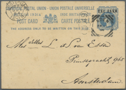 1894/1964, Lot Of 17 Covers/cards/used Stationeries, Only Better Items (single Lots), Comprising India Used In... - Aden (1854-1963)