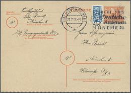 1949/1957, Lot Von Zehn Ganzsachen, Dabei LF 2 Und P 23 II Je Ungebraucht, P 18 II, P 26 Und P 27 Je...