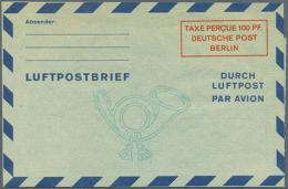 1949/1960. Nette Sammlung Mit 59 Postkarten Und LP-Faltbriefen, Gebraucht Und/oder Ungebraucht. Dabei Etliche Gute...
