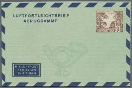 1948/1954. Posten Von Insgesamt 102 LUFTPOSTFALTBRIEFEN. Dabei Sind Die Michel-Nrn 1 II (5 Stück), 2a I (5),...