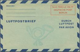 1948/1956. Sammlung Von 33 Postkarten Und LP-Faltbriefen. Überwiegend Ungebraucht. Dabei Sind Etliche Gute...