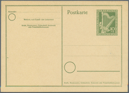 1948/1967. Spannende Sammlung Von 109 Nur Versch. POSTKARTEN, Oft Doppelt Gesammelt: Gebraucht Und Ungebraucht....