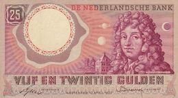 Netherlands 25 Gulden 1955 VF P-87 - [2] 1815-… : Koninkrijk Der Verenigde Nederlanden