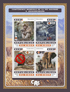 NIGER 2016 - Wildlife Conference, Helicopter. Official Issue