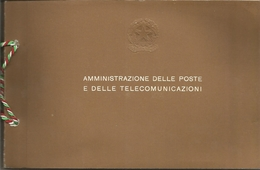 Poste Italiane, 1977, Libro Ufficiale Delle Emissioni Annuali Dei Francobolli Ed Interi Postali Nuovi. - Annate Complete