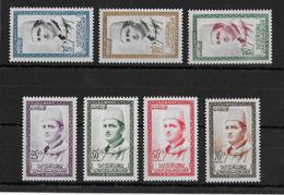 MAROC - YVERT N°362/368 ** - COTE YVERT = 16.5 EURO - Morocco (1956-...)