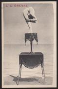 CPA - (célébrités Spectacle Cirque) L. C. Oreval - Circo