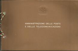 Poste Italiane, 1976, Libro Ufficiale Delle Emissioni Annuali Dei Francobolli Ed Interi Postali Nuovi. - Annate Complete