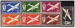 Cameroun P.A. N° 12 / 18  XX Série De Londres Les 7 Valeurs Sans Charnière TB