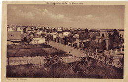 SANNICANDRO DI BARI - PANORAMA - VIAGG. 1913 - Bari