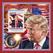 Niger - Postfris / MNH - Sheet Donald Trump 2016 - Niger (1960-...)