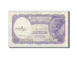 Égypte, 5 Piastres, L.1940, KM:182f, SUP - Egipto