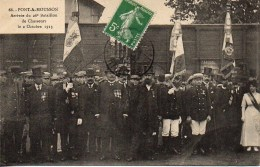 54 PONT-A-MOUSSON  Arrivée Du 26e Batillon De Chasseurs Le 2 Octobre 1913 - Pont A Mousson