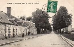 41 PEZOU  Entrée Du Bourg Et Route De Vendôme - Autres Communes