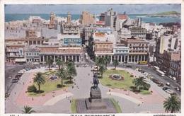 MONTEVIDEO  - PLAZA INDEPENDENCIA  VG  AUTENTICA 100% - Uruguay